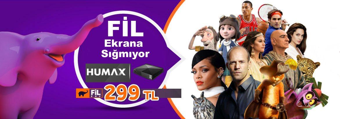Filbox Humax Kampanyası
