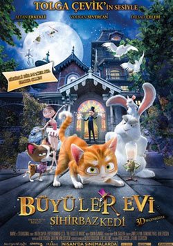 Büyüler Evi: Sihirbaz Kedi - The House Of Magic